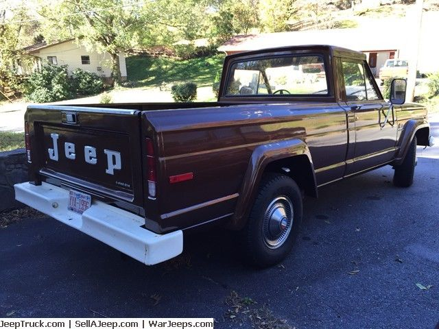 1978 jeep j10 truck with 29 890 original miles classic jeep other 1978 for sale. Black Bedroom Furniture Sets. Home Design Ideas