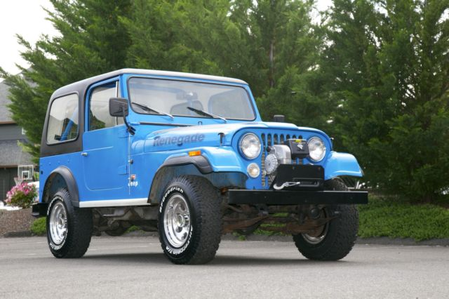 1978 jeep wrangler cj 7 renegade levi hard top quadratrac. Cars Review. Best American Auto & Cars Review