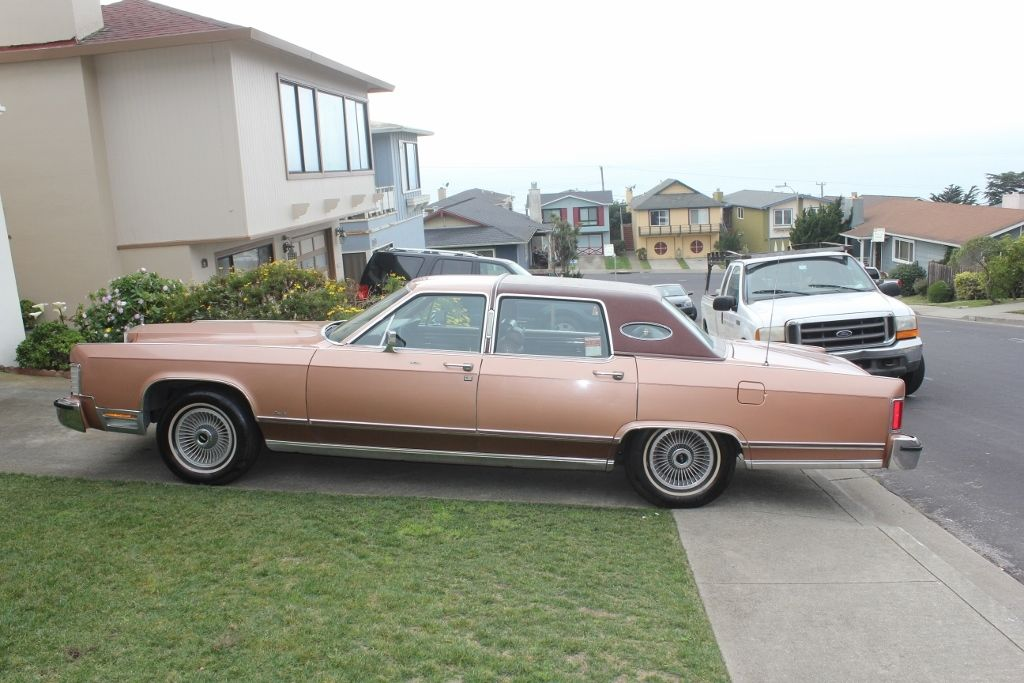 1978 Lincoln Continental Base 4 Door 6 6l Rare California Towncar