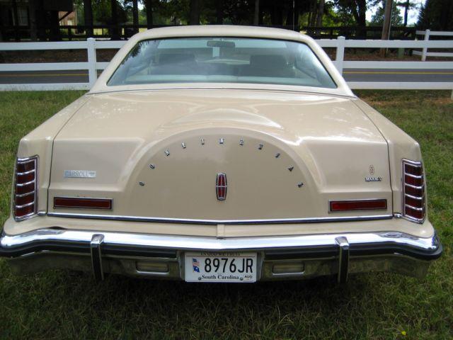 1978 Lincoln Continental MARK V CARTIER EDITION - Classic