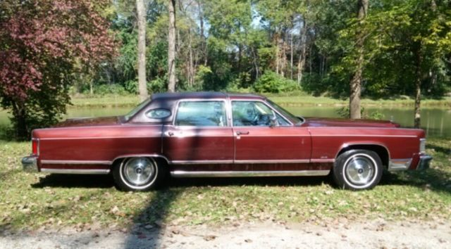 1978 Lincoln Continental Town Car 12 000 Actual Miles Classic