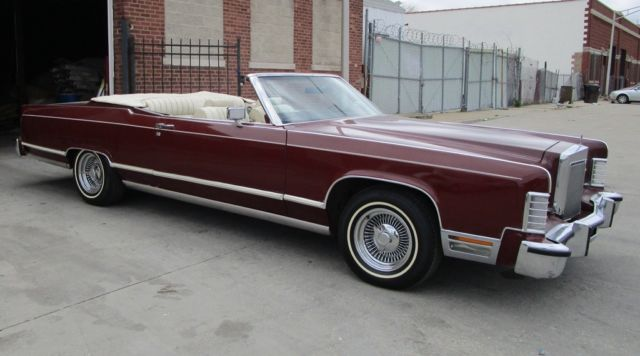 1978 lincoln convertible classic lincoln town coupe convertible 1978 for sale. Black Bedroom Furniture Sets. Home Design Ideas