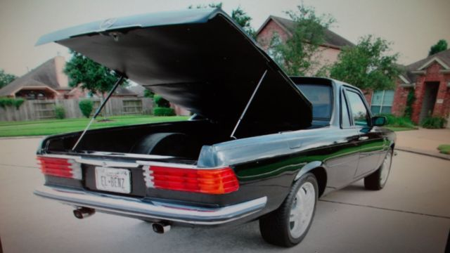 1978 Mercedes Benz 450selcamino True One Of A Kind Tons