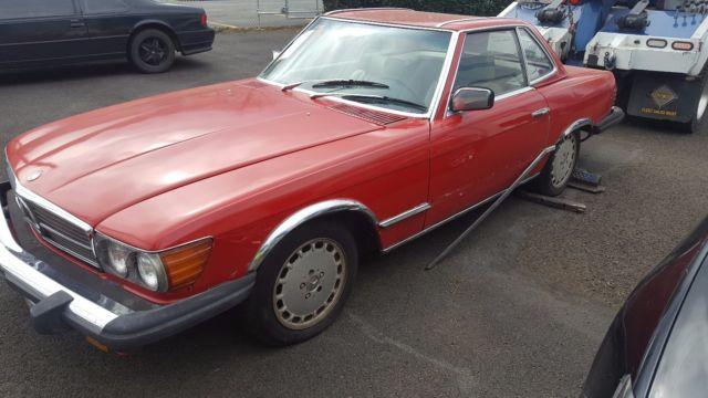 1978 mercedes benz 450sl 78000 miles clean title for Mercedes benz of denver glendale co
