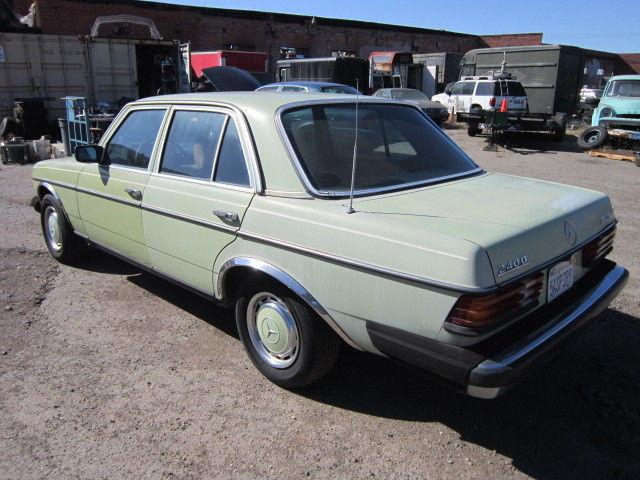 1978 mercedes benz diesel 240d automatic classic for Mercedes benz diesel models