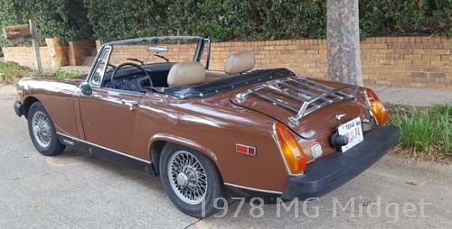 1978 MG Midget 1500 DRIVER Good Running Condition - recent