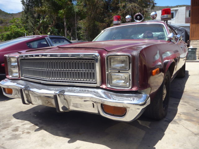 1978 Plymouth Fury Minnesota Highway Patrol police car ...