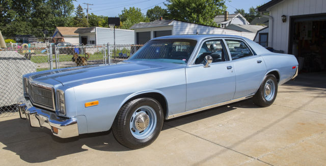 1978 Plymouth Fury Virginia State Police 78 325 Show Car