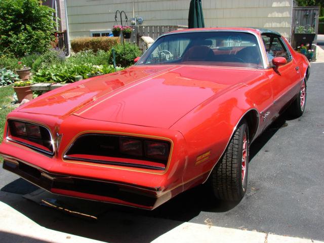 1978 Pontiac Firebird Esprit Redbird Edition Classic