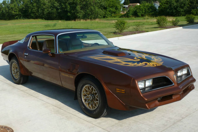 1978 pontiac firebird trans am 400 automatic unrestored driver california car classic pontiac. Black Bedroom Furniture Sets. Home Design Ideas
