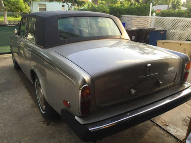 1978 rolls royce silver wraith ii only 86k mi no reserve. Black Bedroom Furniture Sets. Home Design Ideas