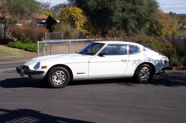 1978 Stock Datsun 280z 2 2 Polar White 5 Speed Ac