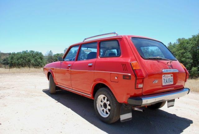 1978 Subaru Gl Wagon 4wd Classic Subaru Other 1978 For Sale