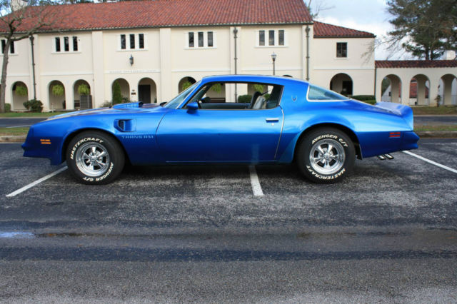 1978 trans am martinique blue 400 auto same owner since for Am motors used cars