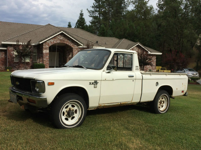 1979 4x4 chevy luv pickup truck short bed 4 wheel drive chevrolet love shortbed classic. Black Bedroom Furniture Sets. Home Design Ideas