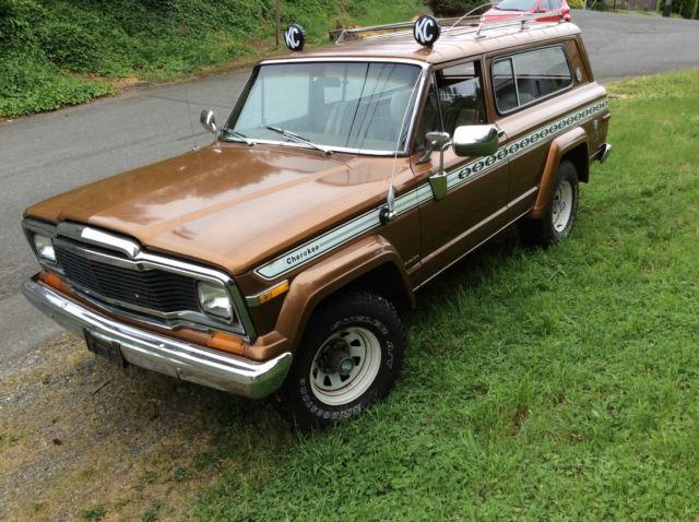 1979 AMC Jeep Cherokee Wide Track 2 Door Wagon Alpaca ...