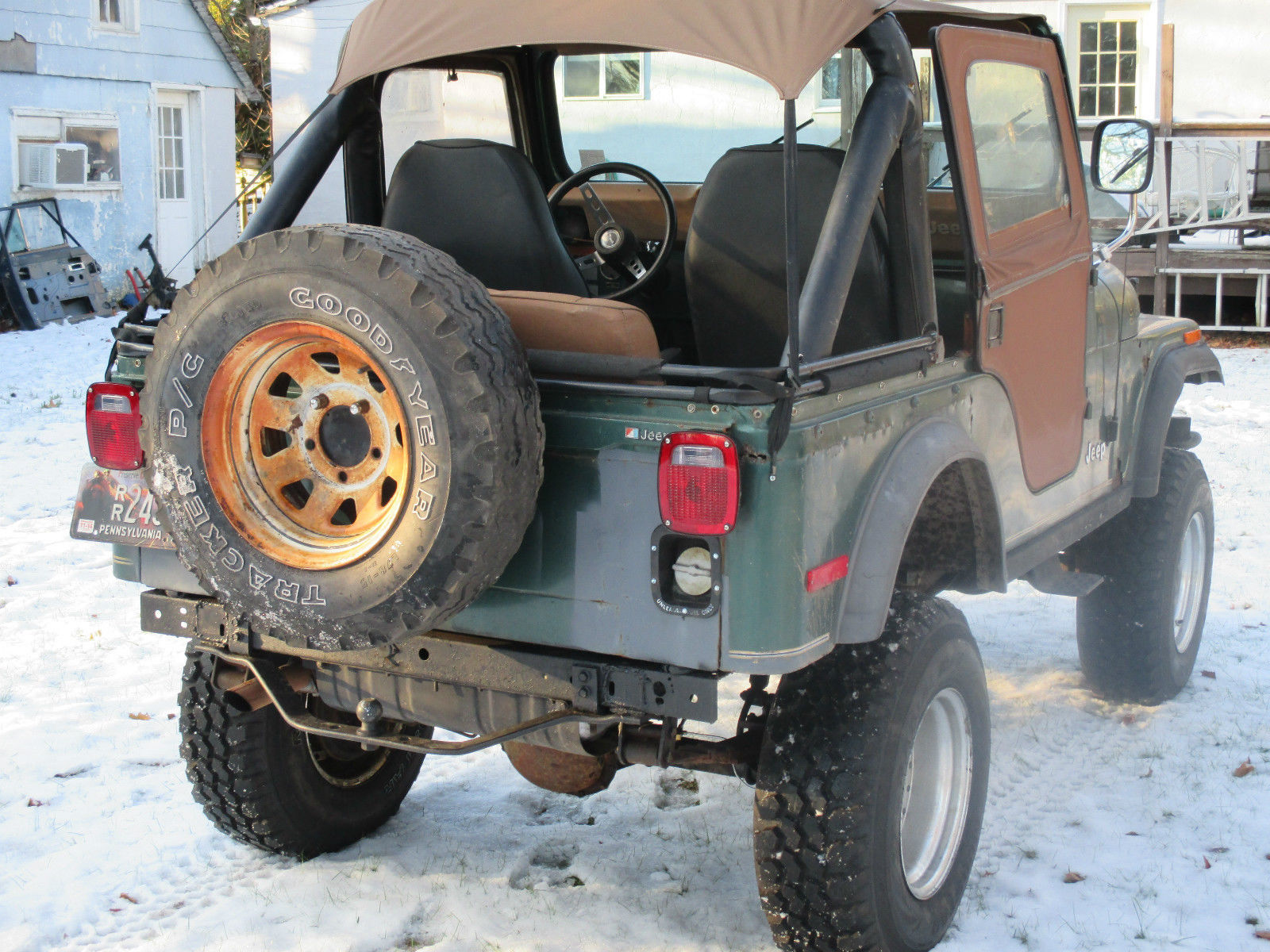 1979 AMC JEEP GOLDEN EAGLE CJ5. CJ-5 JEEP CJ. LIFTED WITH ...