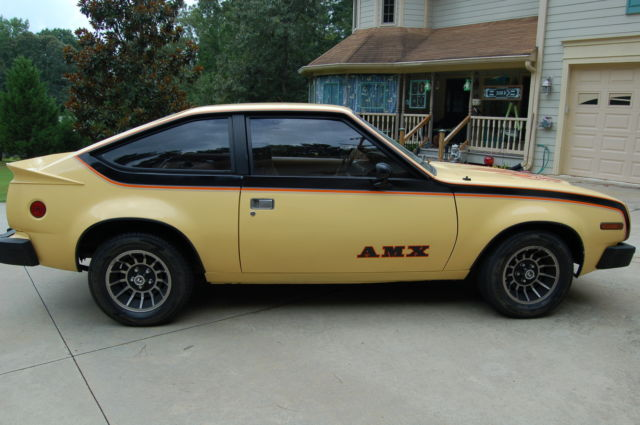 Used Cars For Sale In Georgia >> 1979 AMC Spirit AMX 360 V8, 3rd Owner, Super Cool & Fast Driver Quality - Classic AMC Other 1979 ...