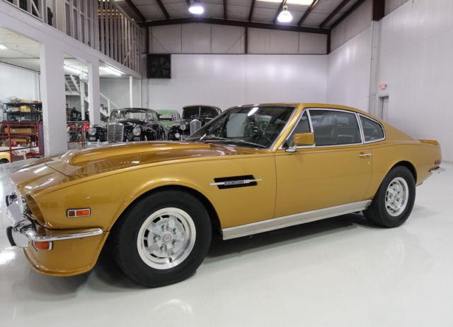 Aston Martin V Vantage Flip Tail Coupe High Horsepower Euro Spec V