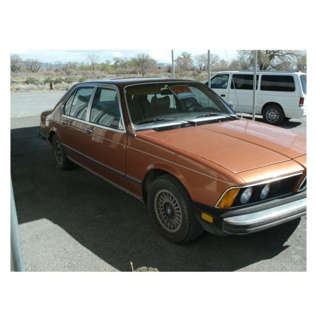 1979 BMW 733i Classic, Low Mileage Sedan 4-Door 3.2L