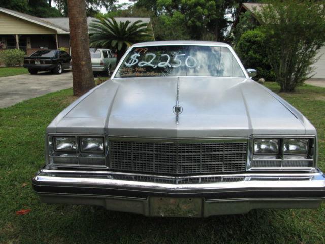 1979 buick electra park avenue one owner solid florida car low original miles 79 classic buick. Black Bedroom Furniture Sets. Home Design Ideas