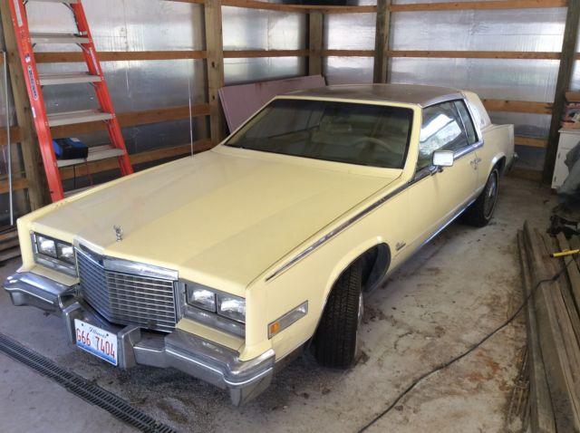 1979 Cadillac Eldorado Biarritz Coupe 2-Door 5 7L gas motor