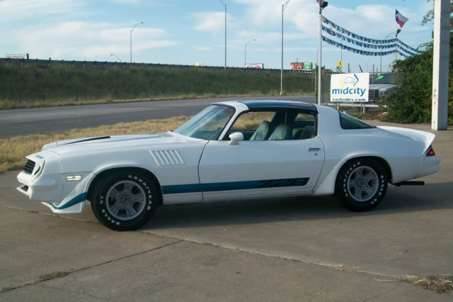1979 Camaro Z28 T Top 4 Speed Classic Chevrolet Camaro