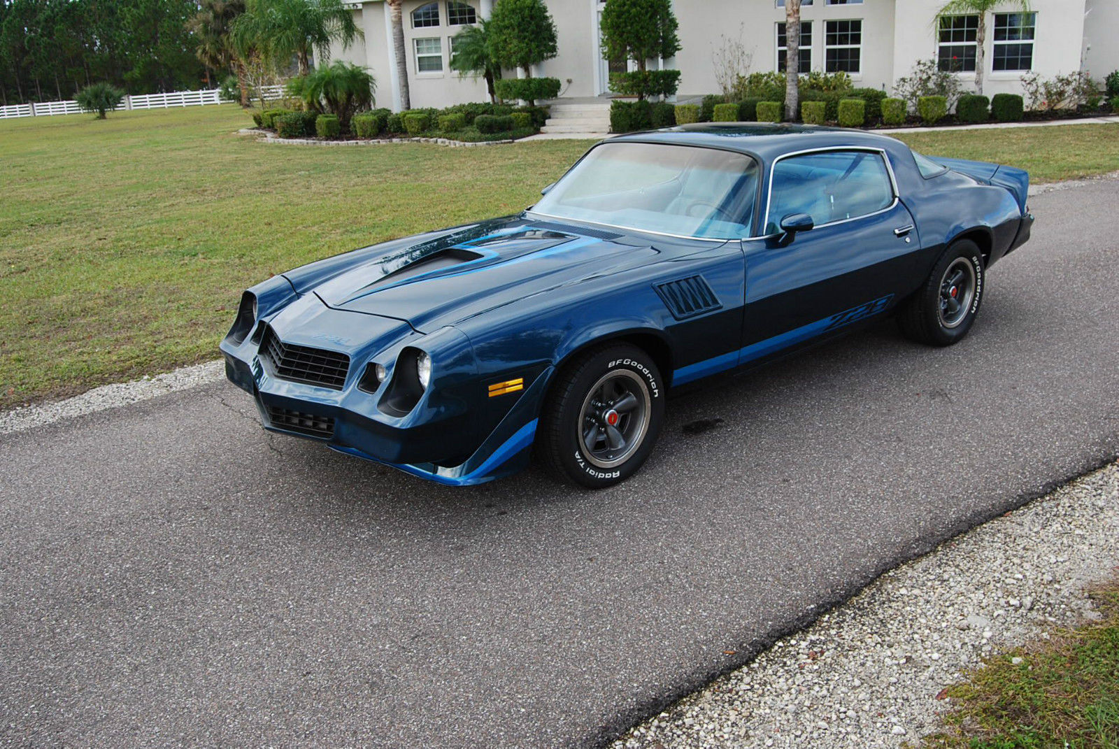 1979 chevrolet camaro z 28 midnight blue metallic with factory 4 speed classic chevrolet. Black Bedroom Furniture Sets. Home Design Ideas