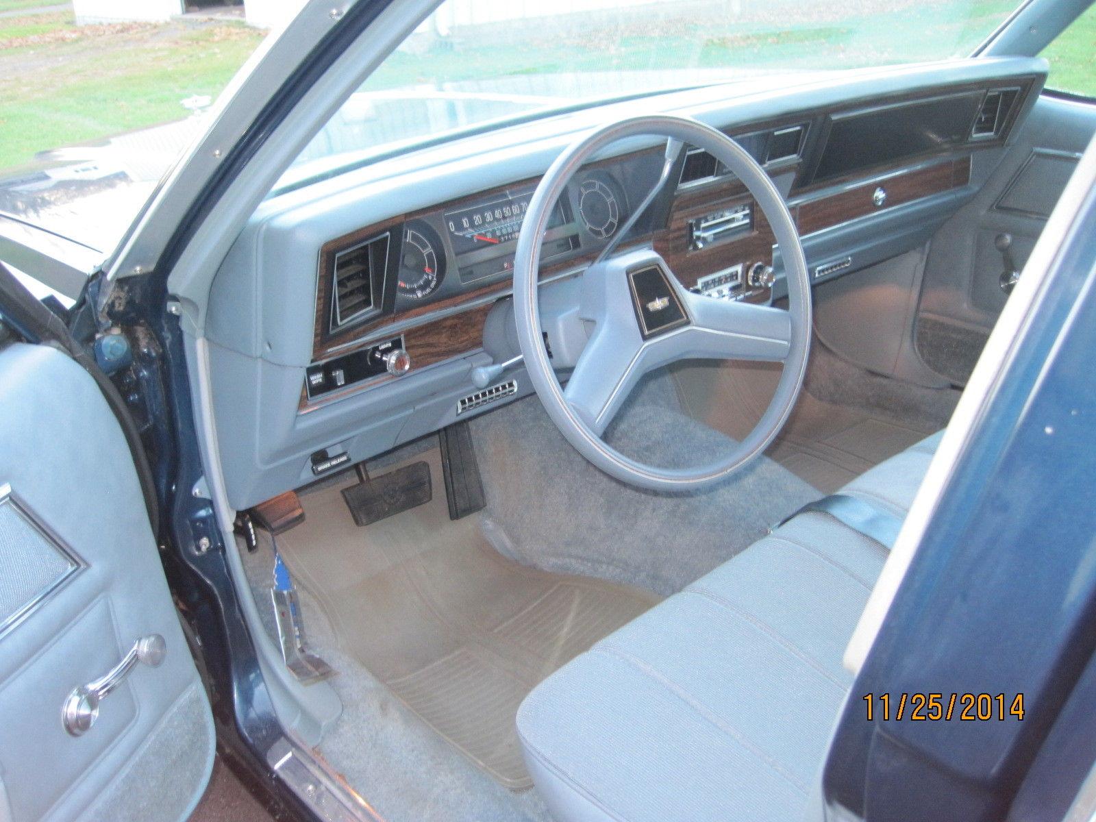 1979 Chevrolet Caprice Classic 4 Door Sedan Classic