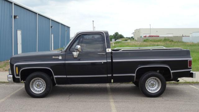 1979 Chevy Truck >> 1979 Chevrolet Chevy Not Gmc Silverado C10 Shortbed Truck Pickup