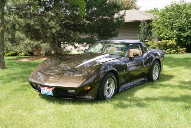 1979 Chevrolet Corvette Chocolate Metallic Brown Modified ...