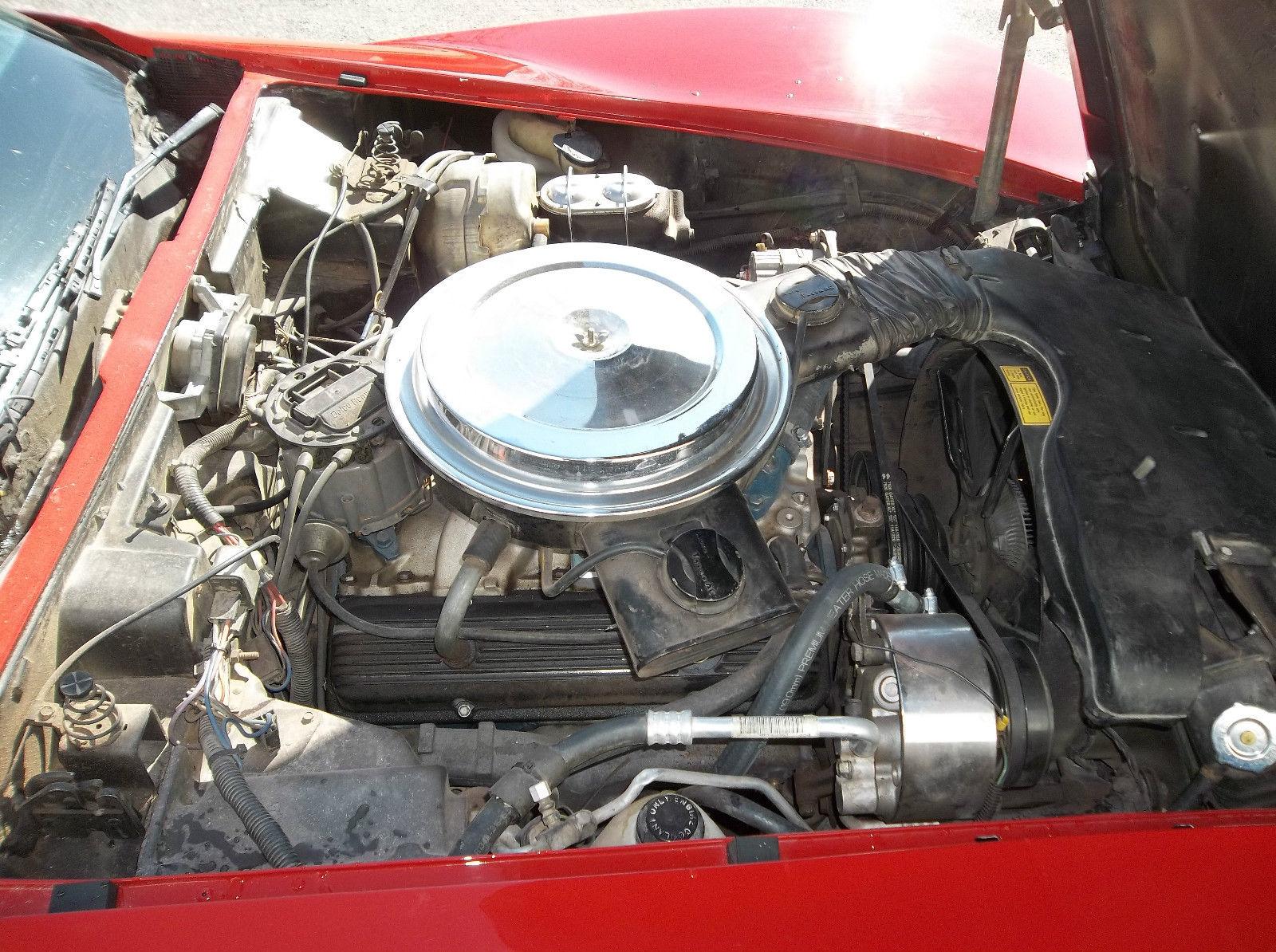 Worksheet. 1979 Chevrolet Corvette L82 Red with Black interior TTops
