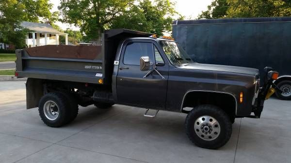 5500 Dump Truck >> 1979 Chevrolet K30 3500 4x4 dually dump bed - Classic Chevrolet C/K Pickup 3500 1979 for sale
