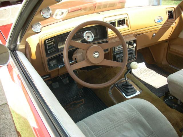 1979 Chevrolet Malibu Classic Sport Coupe 2 Door 5 7l