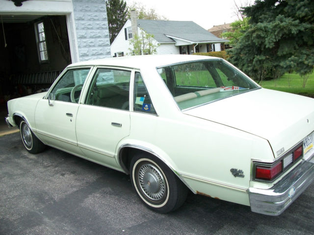 1979 Chevrolet Malibu Classic Sport Sedan 4 Door 4 4l