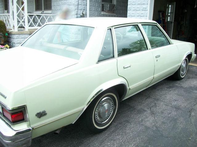 1979 Chevrolet Malibu Classic Sport Sedan 4 Door 4 4l