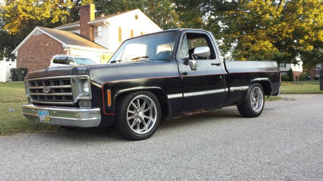 1979 Chevy C 10 Short Bed Chevrolet 73 87 Chevy Truck
