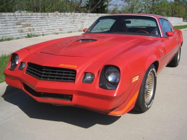 1979 Chevy Camaro Z8 -V8 Auto All original - Classic