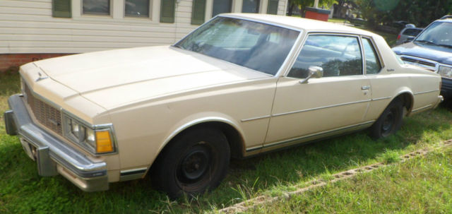 1979 chevy caprice classic 2 door coupe cream 305 v6 classic chevrolet caprice 1979 for sale. Black Bedroom Furniture Sets. Home Design Ideas