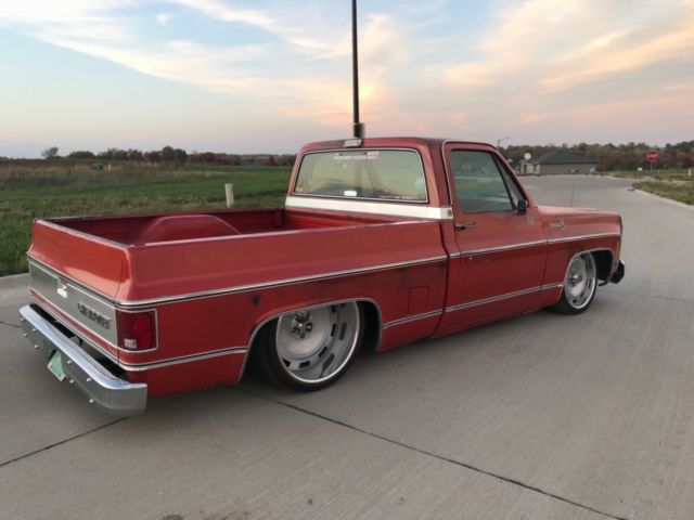 Chevy Truck Wheels >> 1979 Chevy SWB C10 chopping block 4 link air ride us mags killer patina - Classic Chevrolet C-10 ...