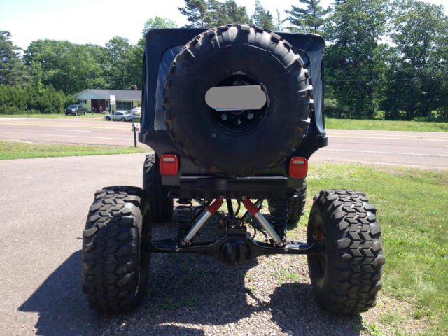 1979 Cj5 Custom Built Stretched Rock Crawler Classic
