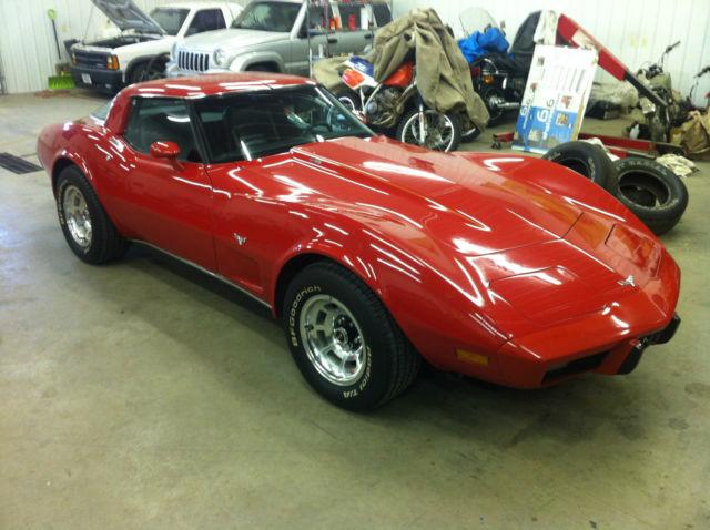 1979 Corvette L82 4 Speed Original 30k Mile Unrestored Survivor With Build Sheet Classic Chevrolet Corvette 1979 For Sale