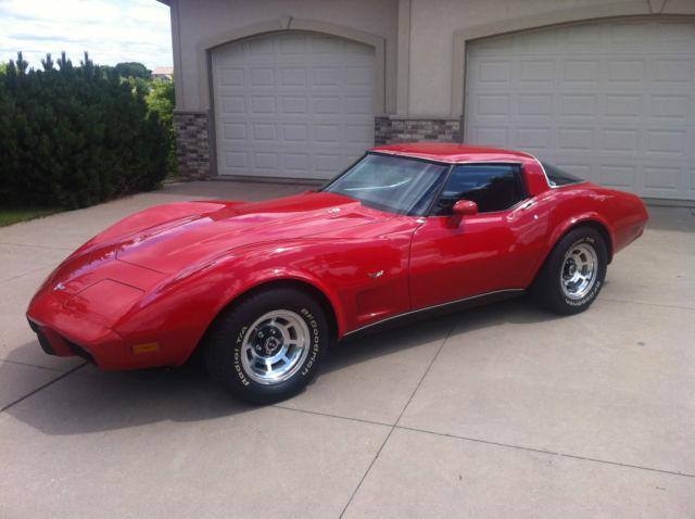 1979 Corvette L82 4 Speed With 30k Miles All Original Survivor W Build Sheet Classic Chevrolet Corvette 1979 For Sale