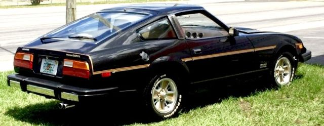 1979 Datsun 280zx Black And Gold Special Edition Classic