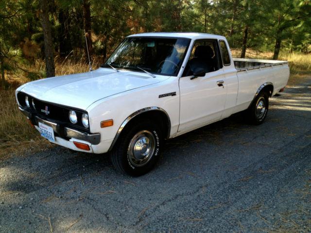 "1979 Datsun 620 Pickup - ""Bullet Side"" / ""King Cab ..."