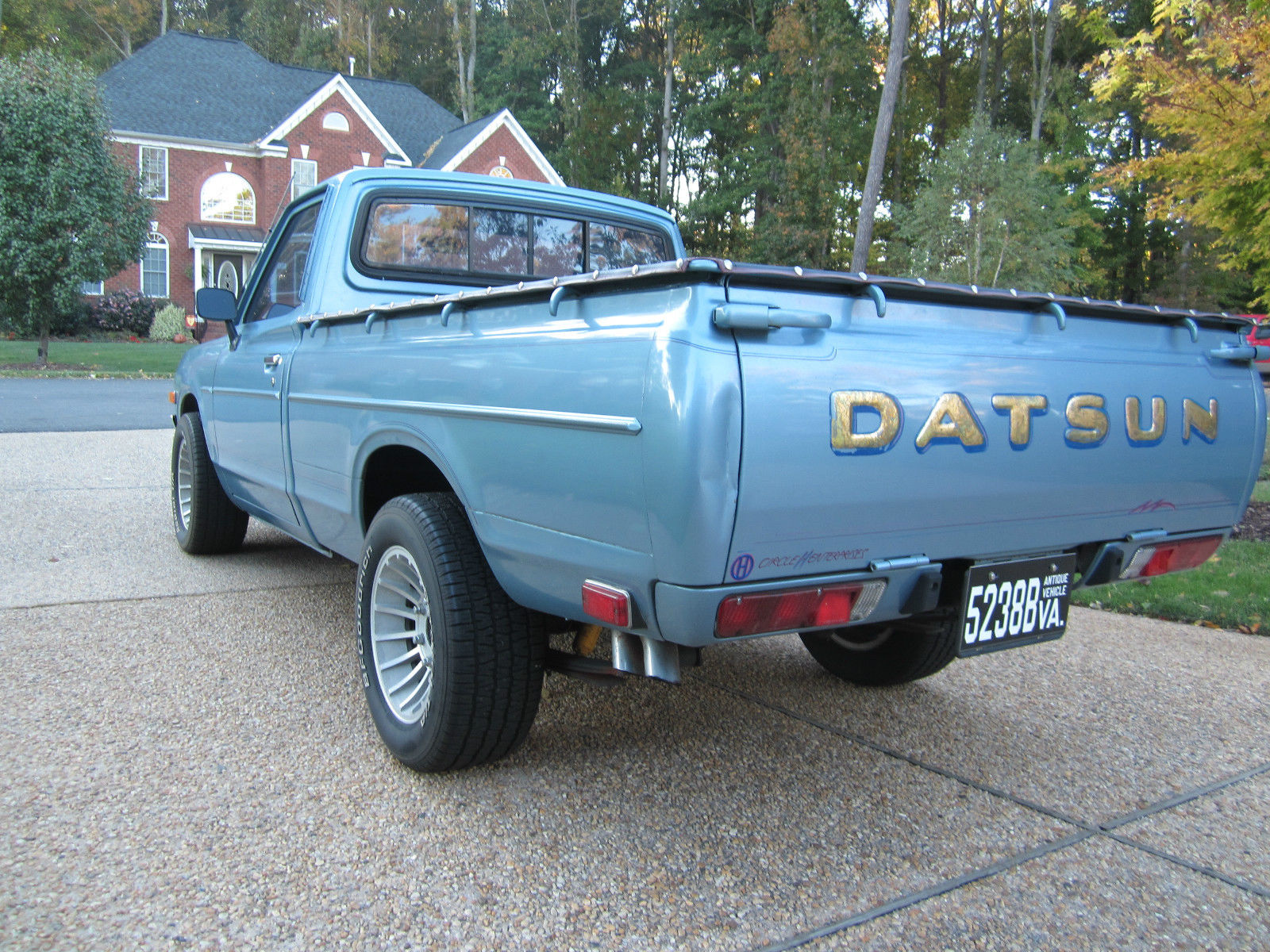 1979 Datsun 620 Pickup Rare Color Rare Options