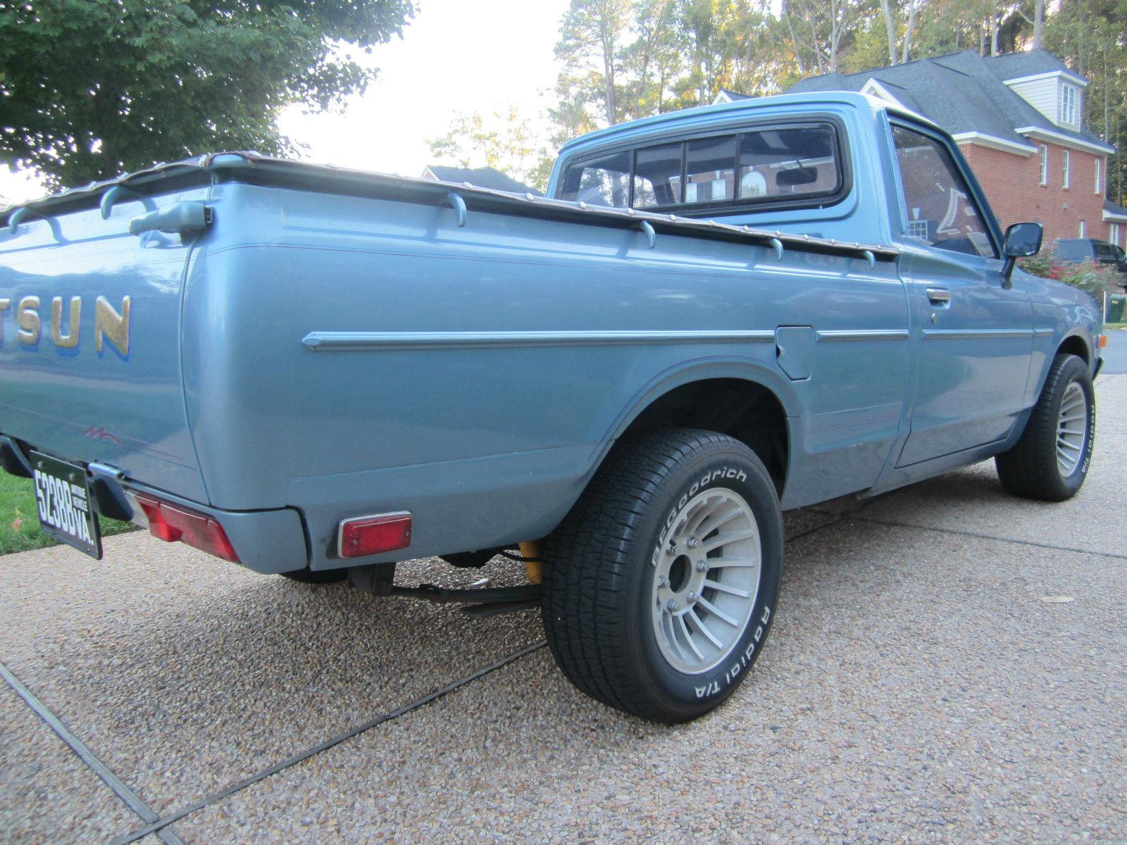 1979 Datsun 620 Pickup Rare Color Rare Options - Classic ...
