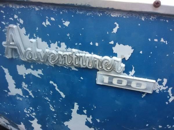 1979 Dodge D100 Adventurer Donor Truck Parts Only No Title ...