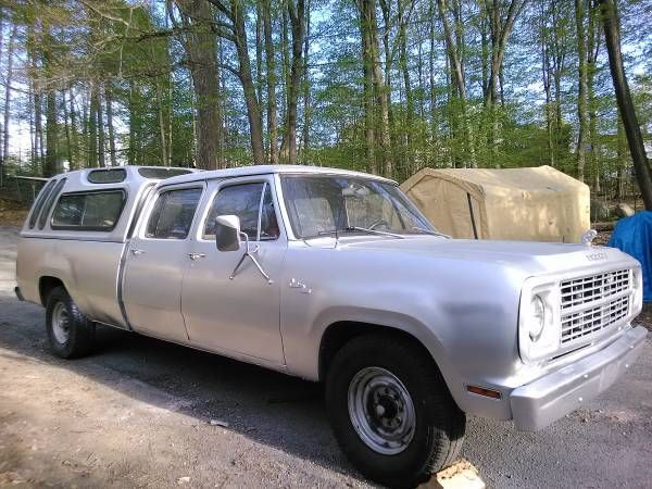 1979 Dodge D200 Crew Cab Pick Up Truck Classic Dodge Other Pickups