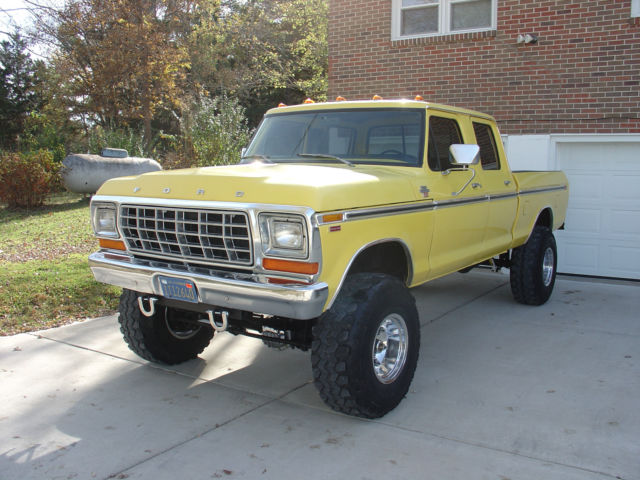 1979 f250 crewcab 4x4 classic ford f 250 1979 for sale. Black Bedroom Furniture Sets. Home Design Ideas